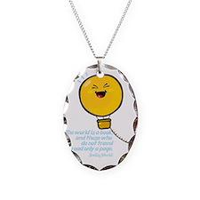 air ballon Necklace