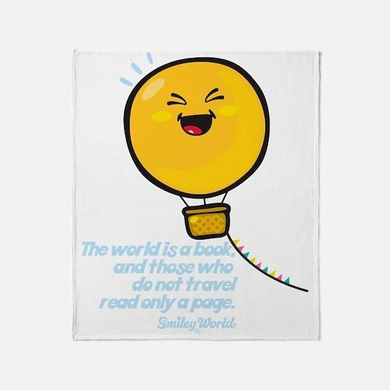 air ballon Throw Blanket