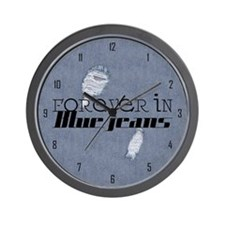 fibj_large_wall_clock_hell Wall Clock