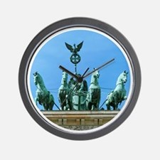 Brandenburg Gate Berlin Wall Clock