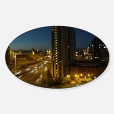 Glasgow At Night Decal