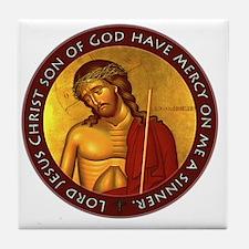 Jesus Prayer - Bridegroom Icon Tile Coaster
