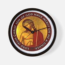 Jesus Prayer - Bridegroom Icon Wall Clock