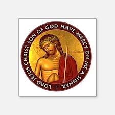 "Jesus Prayer - Bridegroom I Square Sticker 3"" x 3"""