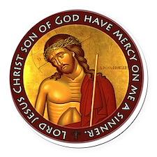 Jesus Prayer - Bridegroom Icon Round Car Magnet
