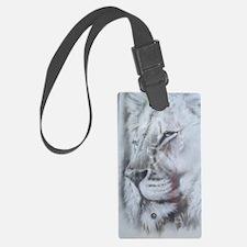 White Lion photo Luggage Tag