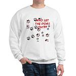Dog Paws Sweatshirt