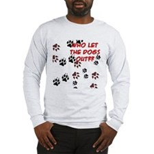 Dog Paws Long Sleeve T-Shirt