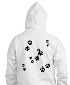 Dog Paws Jumper Hoody