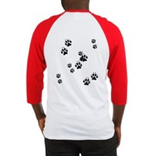 Dog Paws Baseball Jersey