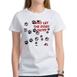 Dog Paws Women's T-Shirt