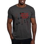 Dog Paws Dark T-Shirt