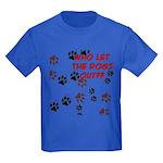 Dog Paws Kids Dark T-Shirt