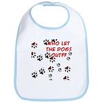 Dog Paws Bib
