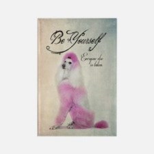Be Yourself Rectangle Magnet
