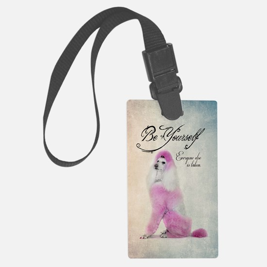 Be Yourself Large Luggage Tag