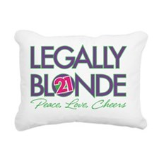 Legally Blonde 21 Rectangular Canvas Pillow