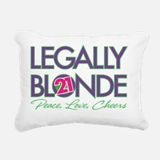 Legally Blonde 21 Rectangular Canvas Pillow