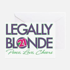 Legally Blonde 21 Greeting Card