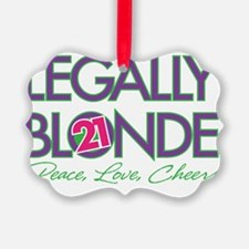Legally Blonde 21 Ornament