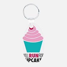 Cupcake RUnner Keychains