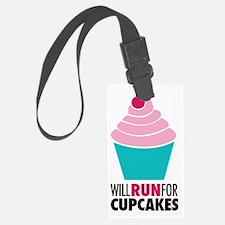 Cupcake RUnner Luggage Tag