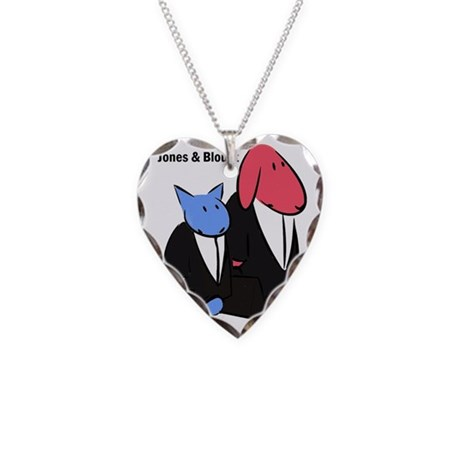 Jones Blount Necklace Heart Charm