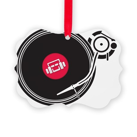 Mixjunkies Vinyl Picture Ornament