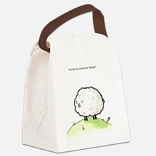Harriet the Sheep Canvas Lunch Bag