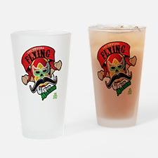 Cheststache Kid Nacho Mustacho T-Sh Drinking Glass
