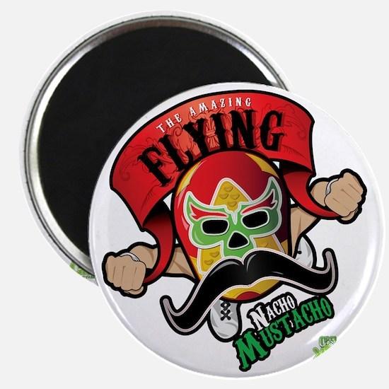 Cheststache Kid Nacho Mustacho T-Shirt Magnet