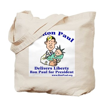 Ron Paul for Pres. Tote Bag