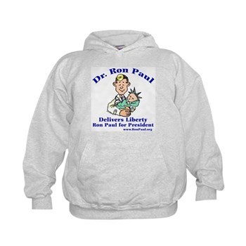 Ron Paul for Pres. Kids Hoodie