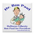 Ron Paul for Pres. Tile Coaster