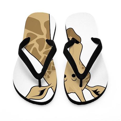 Giraffe T Shirt Flip Flops