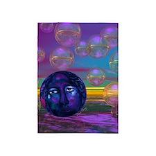 Compassion, Violet Goddess 5'x7'Area Rug