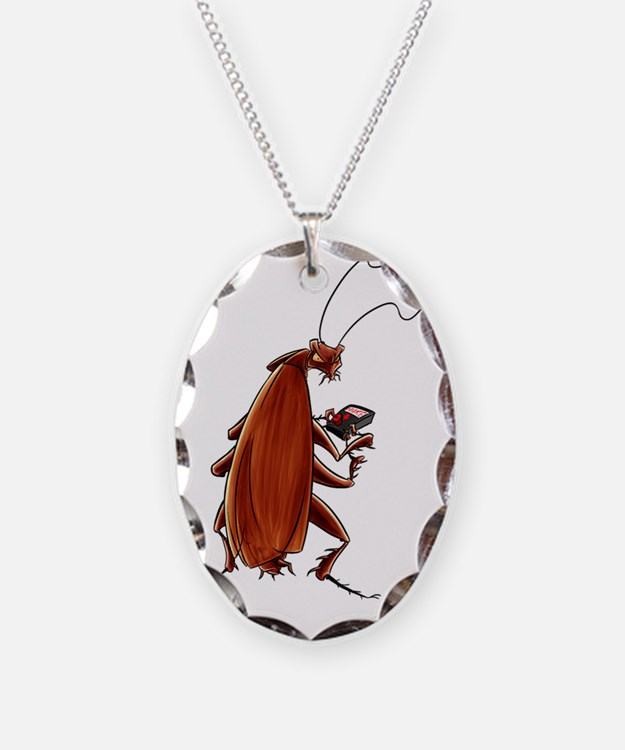 Nuclear button roach Necklace