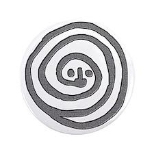 """Petroglyph Snake 3.5"""" Button"""
