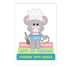 Cook Book Mouse Postcards (Package of 8)