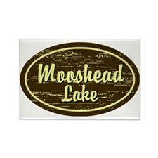 Moosehead Oval Rectangle Magnet