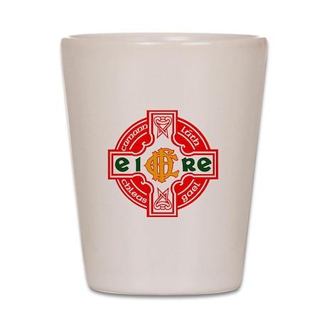 CFD Gaelic Football Logo R Shot Glass