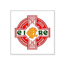"CFD Gaelic Football Logo R Square Sticker 3"" x 3"""