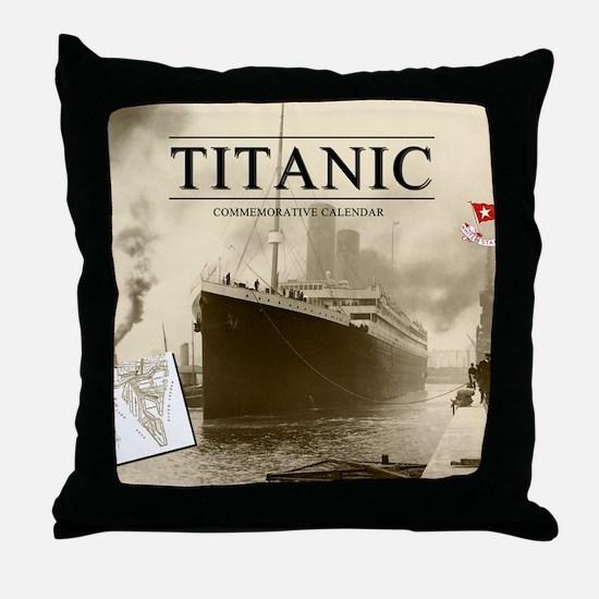 Calendar-Cover-Standard Throw Pillow