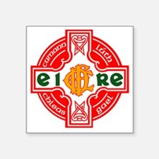 "CFD Gaelic Football Logo Square Sticker 3"" x 3"""