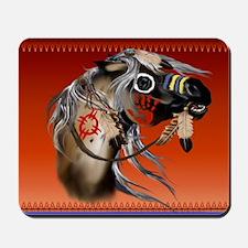 Calender War Horse Mousepad