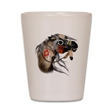 War Horse Trans Shot Glass