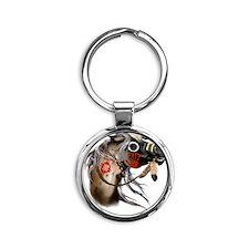 War Horse Trans Round Keychain
