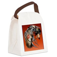 THROW BLANKET War Horseb Canvas Lunch Bag
