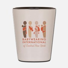 Babywearing International of CNY Logo Shot Glass