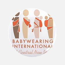 "Babywearing International of CNY Logo 3.5"" Button"